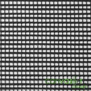 vinyl coated polyester mesh fabric Black