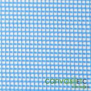 vinyl mesh fabric Sky Blue