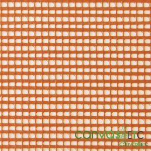 vinyl coated polyester mesh Burnt Orange
