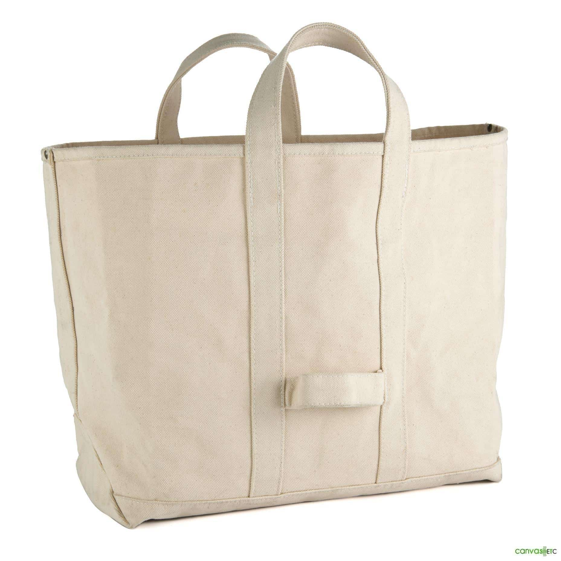 Heavy Duty Cotton Canvas Tote Bag