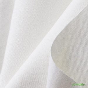 12 oz White cotton duck cloth