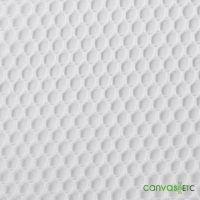 Poly Mesh Fabric White