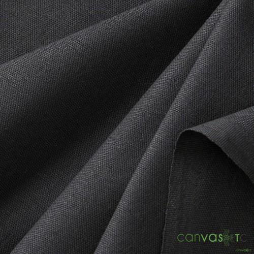 7 oz black canvas
