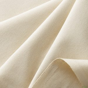 Cream Canvas Fabric