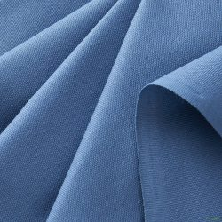 blue canvas fabric