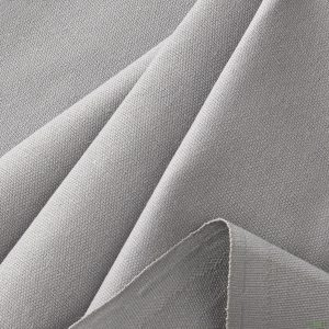 Pewter Canvas Fabric
