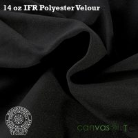 14 oz ifr velour black