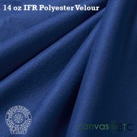 14 oz ifr velour blue