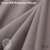 14 oz ifr velour gray