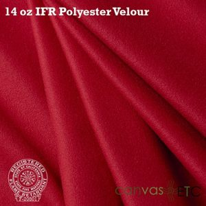 14 oz ifr velour red