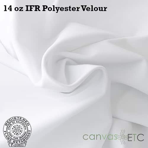 14 oz ifr velour white