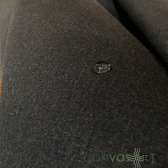 Waxed Canvas Army Duck Charcoal Wholesale Canvasetc
