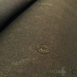 wax canvas fabric Dark Oak