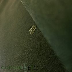 Waxed Canvas Fabric Olive Army Duck