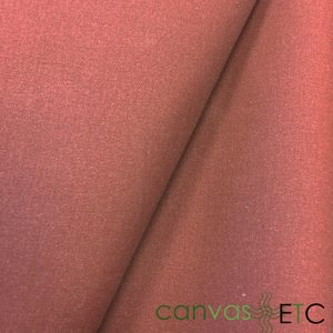 Waxed Cotton Canvas Red