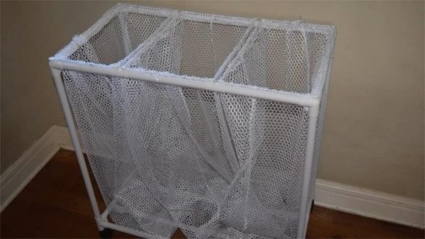 diy laundry hamper