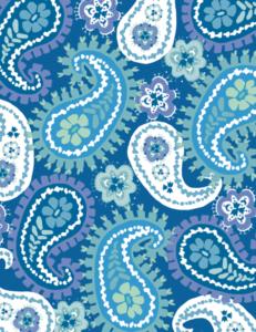Paisley Fabric Printing