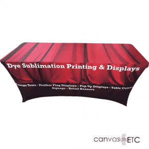 Stretch Table Cloth for Trade Shows and Events