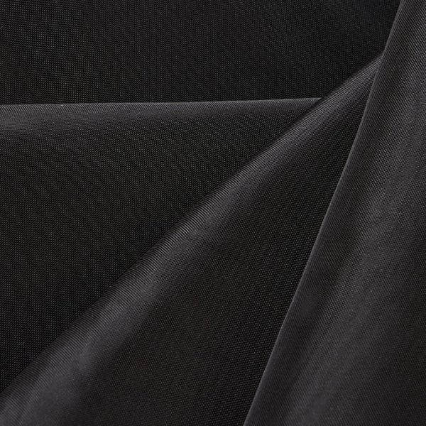 12'H Sheer Drape - Black
