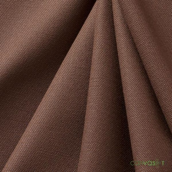 "Canvas Fabric | 10 ounce | 60"" width Brown Canvas"