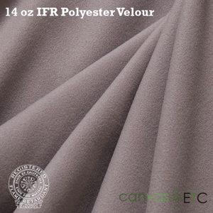 "IFR Velour 14 oz - 60""   Gray"