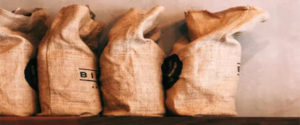 Burlap bags