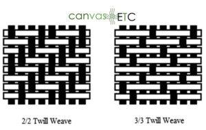 Twill weaves