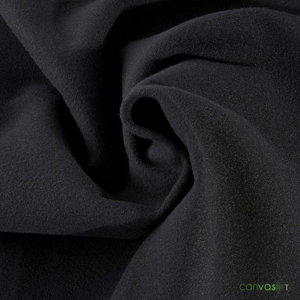 8'H Velour Drape 22 oz - Black
