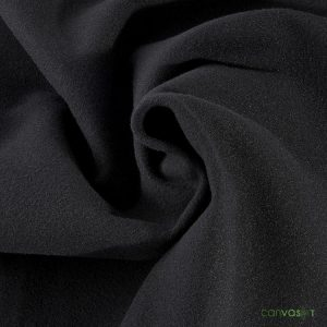 22'H Velour Drape 22 oz - Black
