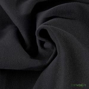 30'H Velour Drape 22 oz - Black