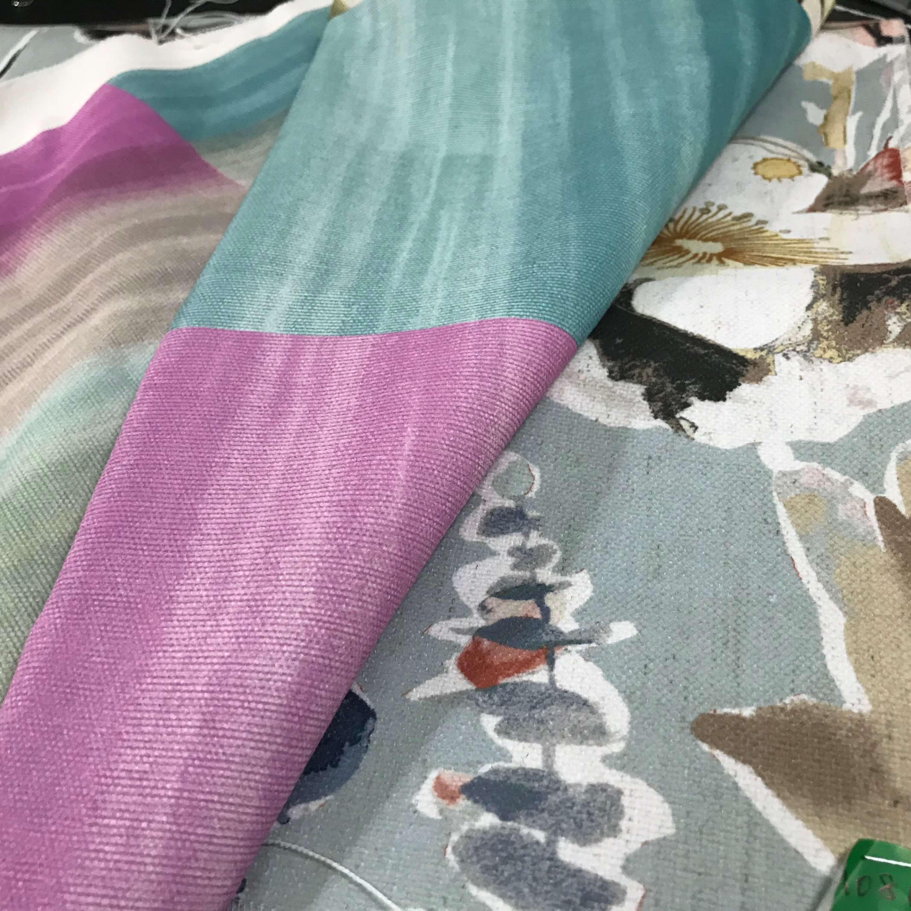 Custom Printing On Many Fabric Types Upload Your Design Canvasetc