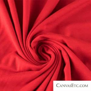 Viscose Fabric in Red