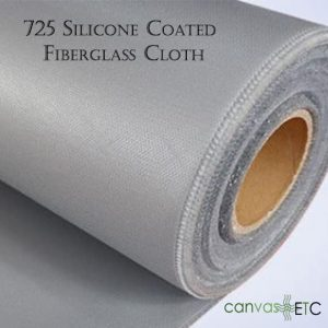 725 Silicone Coated Fiberglass Cloth