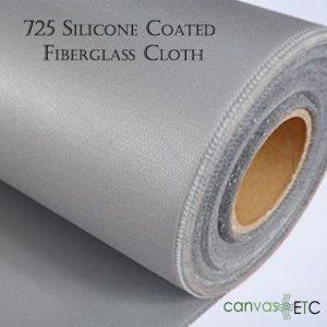 725 Silicone Coated Fiberglass Cloth