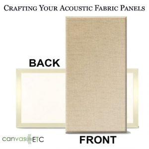 Crafting acoustic panels