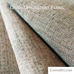 Linen Upholstery Fabric