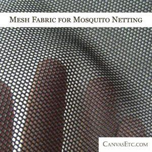 Mesh Fabric for Mosquito Netting