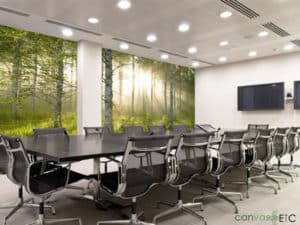 Custom wallpaper for Commercial Interiors