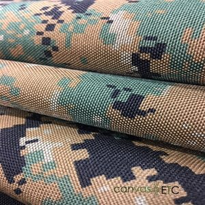1000Denier Nylon Camo Fabric