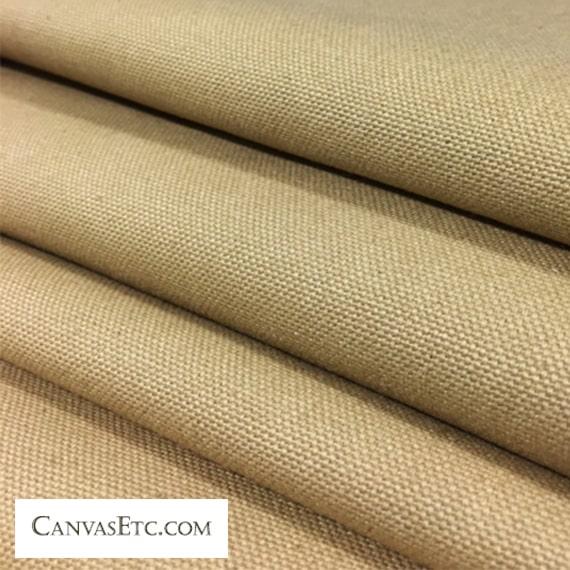 Chestnut 10 ounce cotton duck fabric