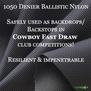 Cowboy Fast Draw Backstop Fabric