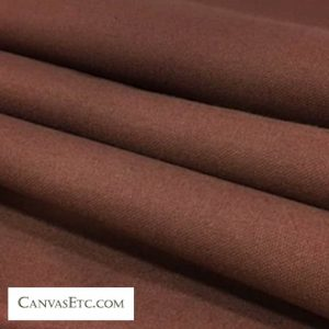 Espresso 10 ounce cotton duck fabric
