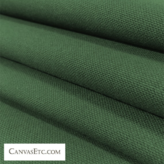 Green Field 10 ounce cotton duck fabric