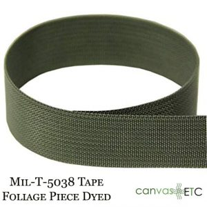 Mil-T-5038 Tape Foliage Piece Dyed