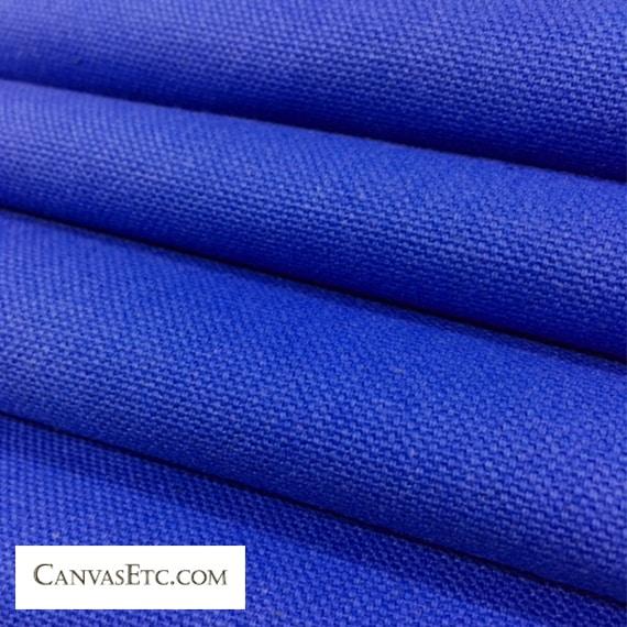 Royal Blue 10 ounce cotton duck fabric