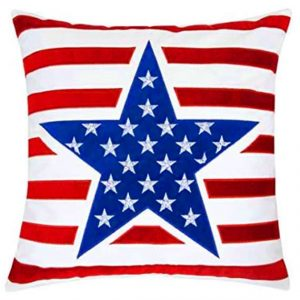 American Large Star Pillow