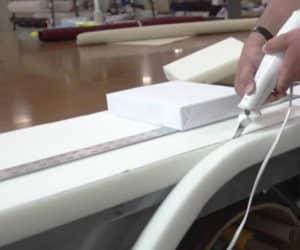 Cutting your foam cushion insert to spec