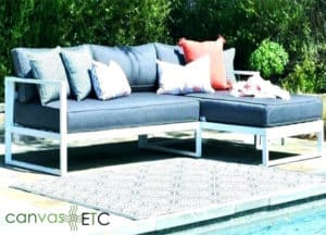 Outdoor furniture needs protection from the elements