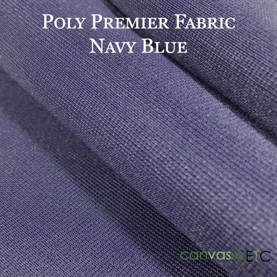PolyPremier Fabric Navy Blue Color