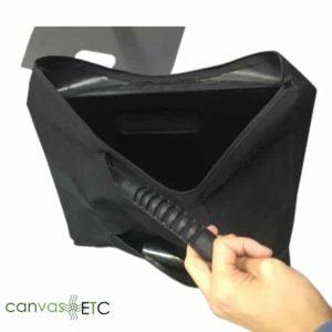 pipe and drape base bag